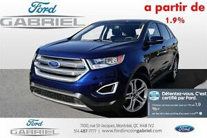 2016 Ford Edge Titanium AWD 1 year or 20000KM full waranty primi