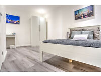 Great ensuite room in a newly refurbished flat available NOW
