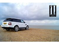 Range Rover Sport (Chauffeur Hire) £200 for 3 hours!