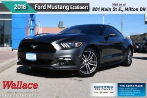 2016 Ford Mustang EcoBoost/ROUSH INTAKE/1-OWNR/CLEAN/CAMERA