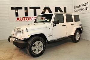 2011 Jeep WRANGLER UNLIMITED Sahara| Auto| 4x4|Matching Top| Loc