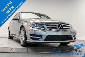 2012 Mercedes-Benz C250 4MATIC *CUIR, SIEGES CHAUFFANTS, TOIT OU