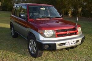 2000 Mitsubishi Pajero IO 4x4 Automatic Wagon Dundowran Fraser Coast Preview