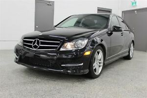 2014 Mercedes-Benz C-Class C300 4MATIC - AWD, ACCIDENT FREE, ONE