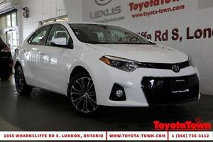 2015 Toyota Corolla S UPGRADE MOONROOF ALLOYS BACKUP CAMERA