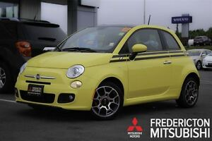 2012 Fiat 500 SPORT! AUTO! PANO ROOF! ONLY 66K!