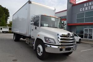 2017 Hino 338 C/W 26' Van. Includes our 3 Year Maintenanc...