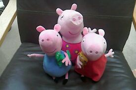 Peppa and George Soft Toys