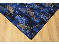 Quality Star War's Rug Spaceships with Star Wars C-3PO 3D Deco Light for free