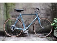 FALCON, 23 inch, 59 cm, vintage gents mixte frame road bike, 5 speed, very light weight