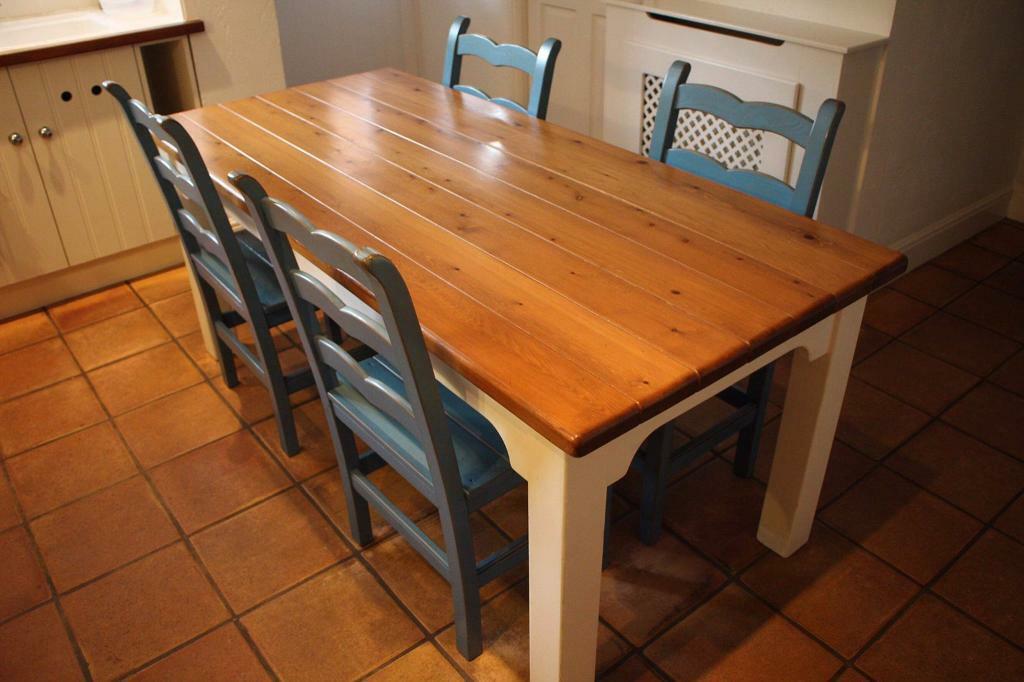 john lewis of hungerford artisan kitchen dining table  4