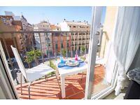 Pretty apartment in Málaga, quiet area ID Property: 5526