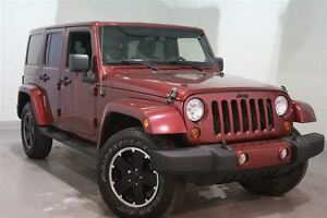 2012 Jeep WRANGLER UNLIMITED Sahara*2 TOITS*CUIR*BLUETOOTH
