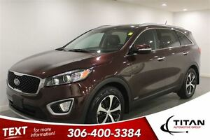 2016 Kia Sorento EX|AWD|Red|Leather|Back-up Cam