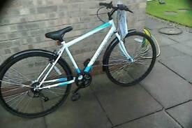 Brand new challenge hybrid bike