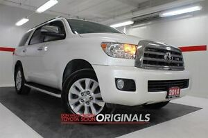 2014 Toyota Sequoia Platinum 4WD Heated Lthr Sunroof Btooth BU C