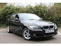 BMW 3 SERIES 318d ES 5dr **FULL SERVICE HISTORY++2 OWNERS** (black) 2010