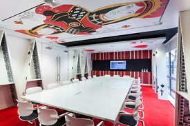 Alice in Wonderland 6 person Waterloo Office Space for rent SE1 by Waterloo Southwark Tube Stations