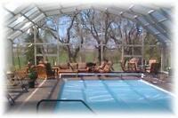 Retractable Pool Enclosures- Made in Canada
