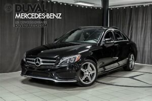 2015 Mercedes-Benz C-Class C300 4MATIC / SPORT PACKAGE+LED+TOIT