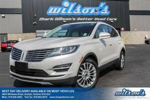 2015 Lincoln MKC AWD! LEATHER! NAV! PANO SUNROOF! HEATED STEERIN
