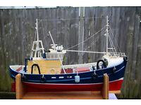 RC North East Coast Fishing Boat