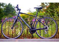 """Marin Fairfax sc1 Hybrid Bike, Pristine Condition, 24 Speeds, 19"""" Frame, city centre."""