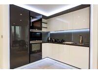 Luxury 1 Bed Apartment in Dollar Bay, 20th Floor, Winter Garden, Stunning Views, Gym, Concierge- VZ
