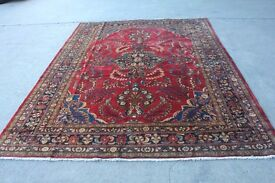 Full Room Size Rare Floral Design Hand Woven Armenian Lilian Rug 320x233cm, CENTRAL PERSIA