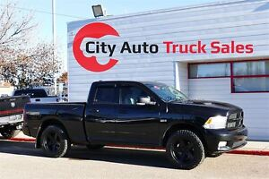 2012 Dodge 1500 Sport 4x4 Quad Cab 140 in. WB