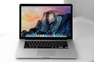 "!! apple Macbook Pro 15""  i7/4g/500g 999$"