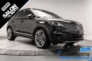 2015 Lincoln MKC AWD, RESERVE NAV CUIR, TOIT PANORAMIQUE