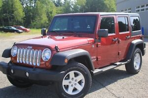 2012 Jeep WRANGLER UNLIMITED Sport+ 2TOITS