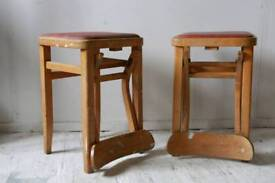 Vintage chairs/stools