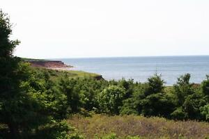 LARGE OCEAN FRONT LOTS - CLEAR SPRINGS-PEI