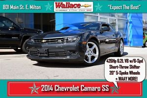 2014 Chevrolet Camaro 1SS/426hp V8/SHORT SHIFTER/20 RIMS/DIFF/6-