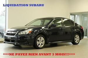 2013 Subaru Legacy *COMMODITÉ*SIEGES/CHAUFFANTS/BLUETOOTH/GARANT