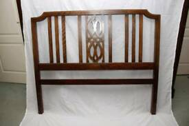 Antique bed header and footer