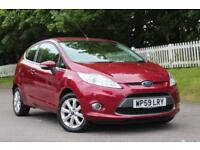 FORD FIESTA 1.2 ZETEC 3d 81 BHP RAC APROVED DEALER (red) 2009