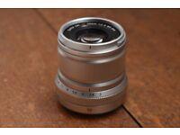 Fujifilm XF50mm lens LIKE NEW