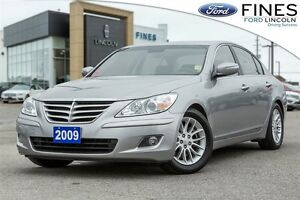 2009 Hyundai Genesis 3.8 - LOW MILEAGE W/LEATHER