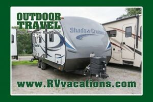 2016 CRUISER RV SHADOW CRUISER 225RBS
