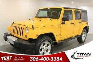 2015 Jeep WRANGLER UNLIMITED Sahara|Nav|38119KMS|Yellow!!