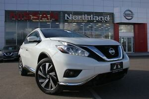 2015 Nissan Murano Platinum/Bluetooth/Nav/Heated Seats/Sunroof