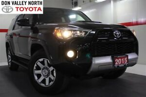 2015 Toyota 4Runner V6 4WD TRAIL EDITION Sunroof Nav Heated Lthe