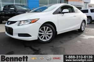 2012 Honda Civic EX - Auto + Sunroof