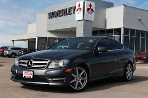 2013 Mercedes-Benz C-Class C 350 4MATIC/Leather/Nav