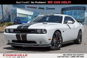 2014 Dodge Challenger SRT, FULLY EQUIPPED! RED ALCANTARA/LEATHER