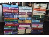 I have forty Nora Roberts books for sale , most are new .