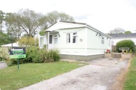1 Bedroom Park Home For Sale £120,000 located on the stunning, private Hedge Barton Park site.